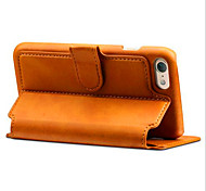 For iPhone X iPhone 8 iPhone 8 Plus iPhone 7 iPhone 7 Plus Case Cover Wallet Card Holder with Stand Flip Full Body Case Solid Color Hard