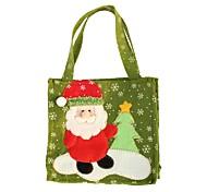 Недорогие -творческие Санта-Клауса снеговик Рождественская елка лосей подарочные пакеты ручной работы моды рождественские подарочные пакеты домашнего