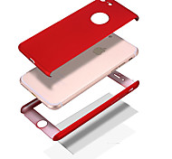 Custodia Per Apple iPhone X iPhone 8 Resistente agli urti Other Integrale Tinta unica Resistente PC per iPhone X iPhone 8 Plus iPhone 8