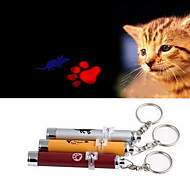 Игрушка для котов Игрушка для собак Игрушки для животных Лазерные игрушки Электроника Отпечаток ступни Мышь Алюминий