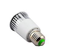 cheap -E14 B22 E26/E27 LED Spotlight MR16 1 High Power LED 450 lm RGB K Dimmable Remote-Controlled AC 85-265 V