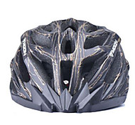 MOON Cycling Black And Golden PC/EPS 27 Vents Light Cycling Helmet