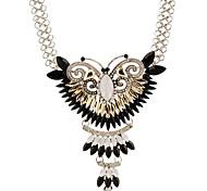 May Polly Fashion butterfly rhinestone necklace gemstone inlaid geometric