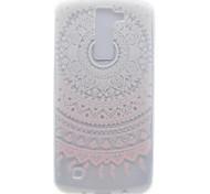 For LG K10 K8 Transparent Pattern Case Back Cover Case Flower Soft TPU K7 Nexus 5X X Power
