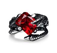 Unique Star celebrity men styles ring Skeleton Avatar big ring for men stainless steel ring