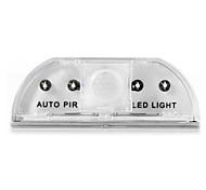 Недорогие -автоматический датчик движения лампы ночное освещение энергосберегающие PIR дверь замочная скважина детектор движения датчик водить ночью