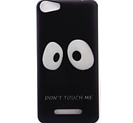 Для wiko lenny3 lenny2 телефон чехол чехол большие глаза узор окрашенный материал tpu для wiko u feel u feel lite sunny jerry