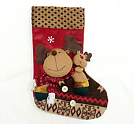 Lovely Deer Christmas Stocking L Size