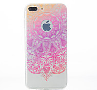 For iPhone X iPhone 8 iPhone 7 iPhone 7 Plus iPhone 6 Case Cover Pattern Back Cover Case Lace Printing Soft TPU for Apple iPhone X iPhone