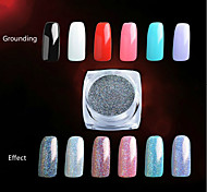 cheap -1pcs Glitter & Poudre Powder Glitters Classic Shimmering Neon & Bright High Quality Daily