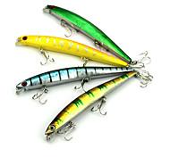 Недорогие -1 штук Рыболовная приманка Вибрация Случайный цвет г/Унция мм дюймовый,Жесткие пластиковые Ловля на приманку
