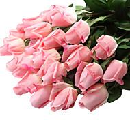 Недорогие -Искусственные Цветы 12 Филиал Современный Розы Букеты на стол