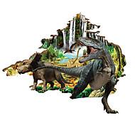 Недорогие -Животные Наклейки 3D наклейки Декоративные наклейки на стены, ПВХ Украшение дома Наклейка на стену Стена
