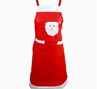 baratos -Papai Noel decoração de mesa de cozinha do avental do jantar decoração do partido casa natal avental partido avental
