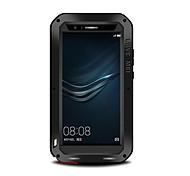 Недорогие -Кейс для Назначение Huawei P9 Huawei Huawei P9 Plus Вода / Грязь / Надежная защита от повреждений Чехол Сплошной цвет Твердый Металл для