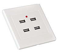 4-Port Four-Port USB Socket