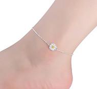 женщин стерлингового серебра ножной ювелирные изделия 1шт