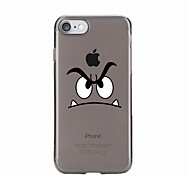 cheap -For Transparent Pattern Case Back Cover Case Cartoon Soft TPU for IPhone 7 7Plus iPhone 6s 6 Plus iPhone 6s 6 iPhone 5s 5 5E 5C