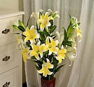 cheap -1 Branch Plastic Others Others Lilies Floor Flower Artificial Flowers