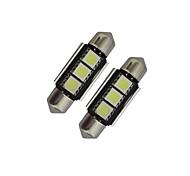 preiswerte -60-70 lm Girlande Lichtdekoration 3 Leds SMD 5050 Kühles Weiß DC 12V