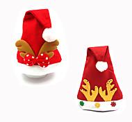 2Pcs DesignIs Random Christmas Decoration Gifts Role Ofing Christmas Tree Ornaments Christmas Gift Christmas Hat
