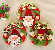 Рождественский венок рождественские украшения для домашнего диаметра партия 20см NAVIDAD новые поставки год