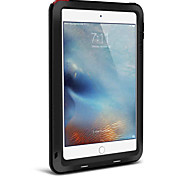 Для Вода / Грязь / Надежная защита от повреждений Кейс для Чехол Кейс для Один цвет Твердый Металл Apple iPad Mini 4