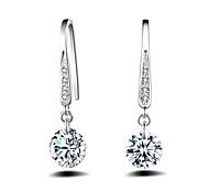 cheap -Women's Sterling Silver Drop Earrings Ball Earrings - For Wedding Party Daily Casual Sports