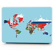 мировая карта флаг шаблон корпуса компьютера MacBook для Macbook air11 / 13 pro13 / 15 Pro с retina13 / 15 macbook12