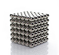cheap -Linlinzz  Children's DIY Buckyball Stainless Steel Ball Steel Magnetic Sculptures Beads Healing Toys - 5MM (Silver)
