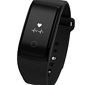 Braccialetto intelligente della donna degli uomini / smartwatch / pedometro di sport assistente di chiamata del monitor del sonno ios android