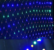 Led Nets lights lights waterproof Colorized 1.5 * 1.5 M96 Lamp Socket