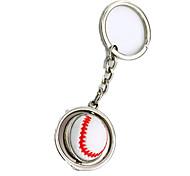 Брелок Игрушки Бейсбол Металл Куски Мальчики Девочки Подарок