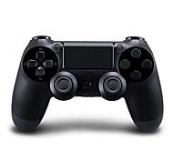 Недорогие -[подарок Pacakge] двойной шок контроллер Bluetooth беспроводной игра с силиконовый чехол для PS4