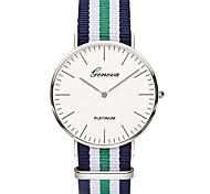 Недорогие -Жен. Модные часы Кварцевый Цветной / Материал Группа На каждый день минималист Синий
