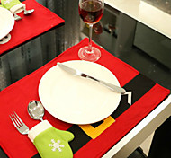 Live in The Hotel Restaurant Decorate Table Mat Creative Christmas Products