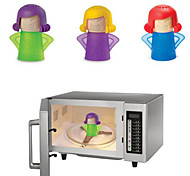Cute Angry Mama Type Household Cleaning Tools Steam Cleaner Used for Microwave Oven 11*13.5CM