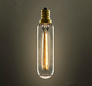 tube of T22 E14 220V-240V 40w e27 bulb with screw Edison small chandeliers retro light industry