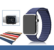 cheap -Watch Band for Apple Watch Series 3 / 2 / 1 Apple Wrist Strap Leather Loop Genuine Leather