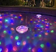 abordables -brelong llevó tina de baño la luz del bebé bañera fluorescente luz de la piscina bajo el agua la luz de colores (DC4.5)