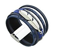 Недорогие -Женский Кожаные браслеты Дружба бижутерия Бижутерия Бижутерия Бижутерия Назначение Повседневные