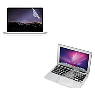 "Ultra Thin TPU Soft Keyboard Protector Cover + Protective Clear Screen Guard for 13.3""/15.4"" MacBook Pro Retina"