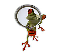 ZIQIAO 3D Frogs Waterproof Car Sticker Funny Gecko Automobiles & Motorcycles Decal Sticker