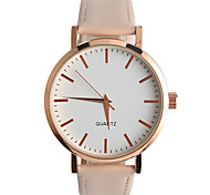 Women's Fashion Watch Quartz / PU Band Casual Beige / Khaki Brand Strap Watch