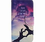 Недорогие -Для google pixel xl pixel case cover любовь ручная роспись pu phone case