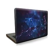preiswerte -MacBook Herbst Notebook-Taschen für Himmel Geometrische Muster Kunststoff MacBook Pro 15 Zoll MacBook Air 13 Zoll MacBook Pro 13-Zoll