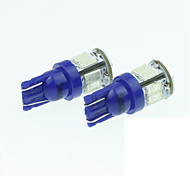 T10 149 168 W5W 5w 11LED 5730smd 450-490nm dc12-16v синий фонарь освещения номерного знака