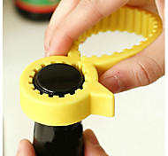cheap -Silicone Non-slip Adjustable Bottle Can Opener