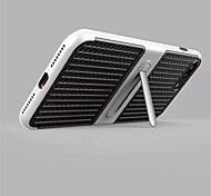 For iPhone X iPhone 8 Case Cover with Stand Back Cover Case Solid Color Hard Carbon Fiber for Apple iPhone X iPhone 8 Plus iPhone 8