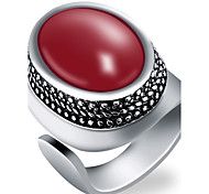 cheap -Men's Ring - Fashion Red / Green / Blue Ring For Party / Daily / Casual